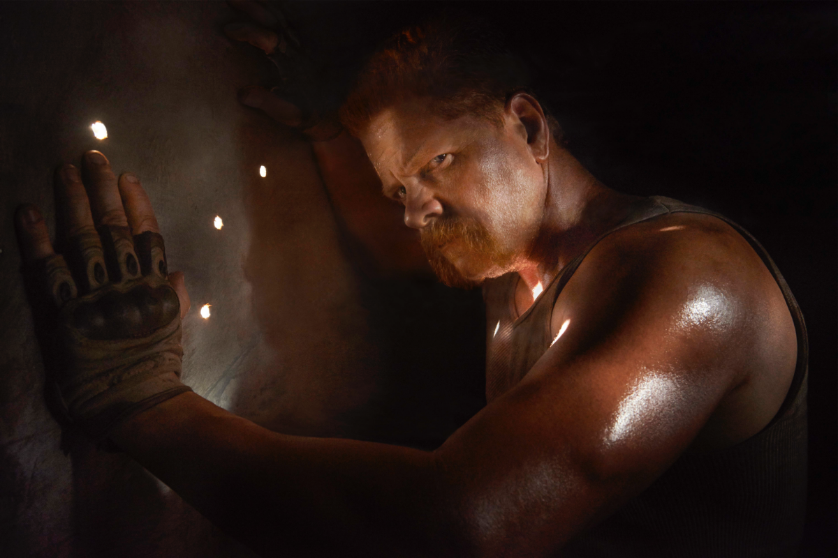 Michael Cudlitz: He's Still Working On Walking Dead, Even After Death