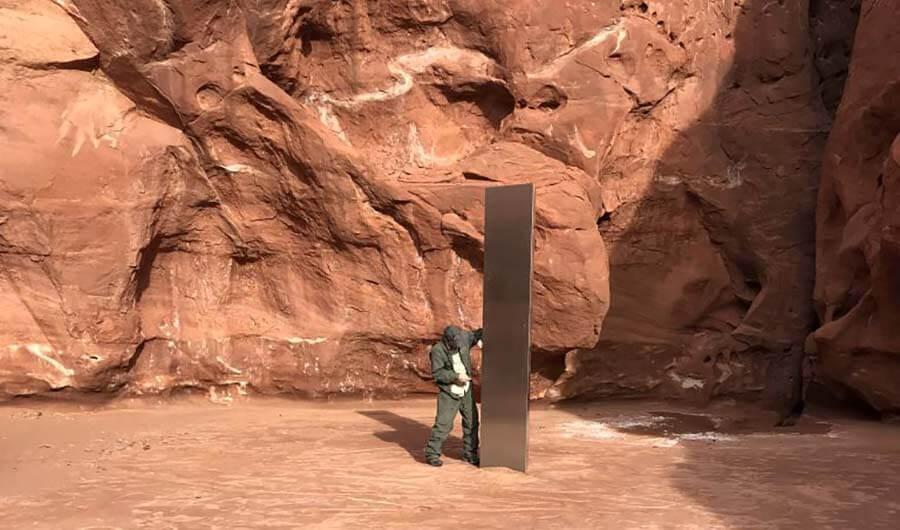 metal monolith utah