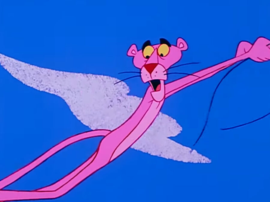 pink panther screenshot