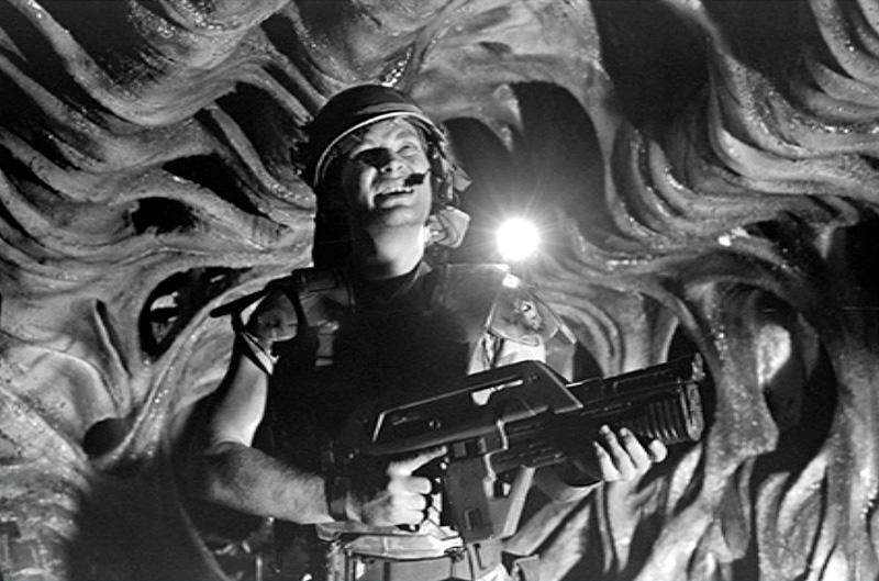 James Remar in Aliens