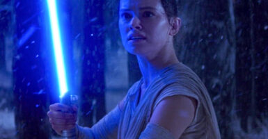 rey lightsabers star wars