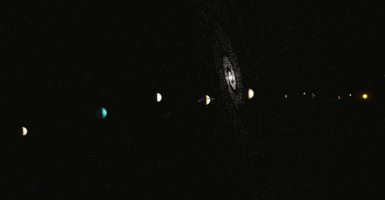 Secret Planet Solar System