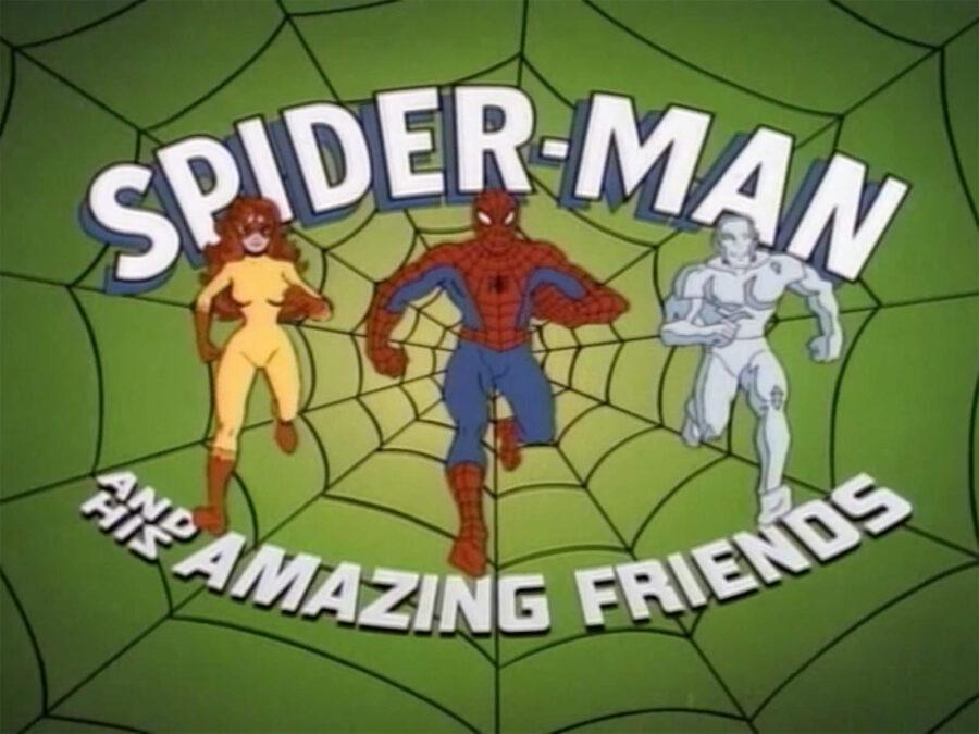 spider-man amazing friends