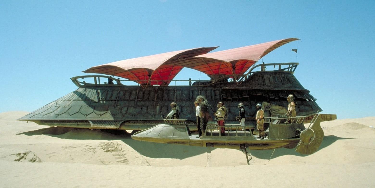 star wars jabba sail barge