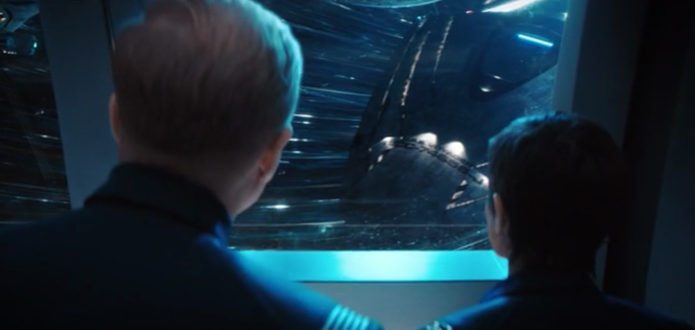The USS Voyager Just Appeared On Star Trek: Discovery! See Her In Action