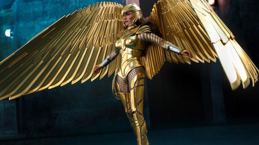 wonder woman 1984 golden armor toy