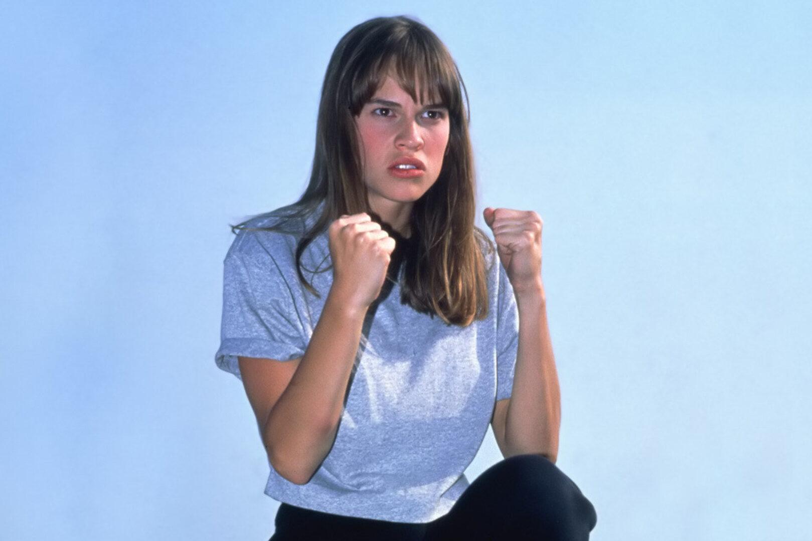 Hilary Swank The Next Karate Kid