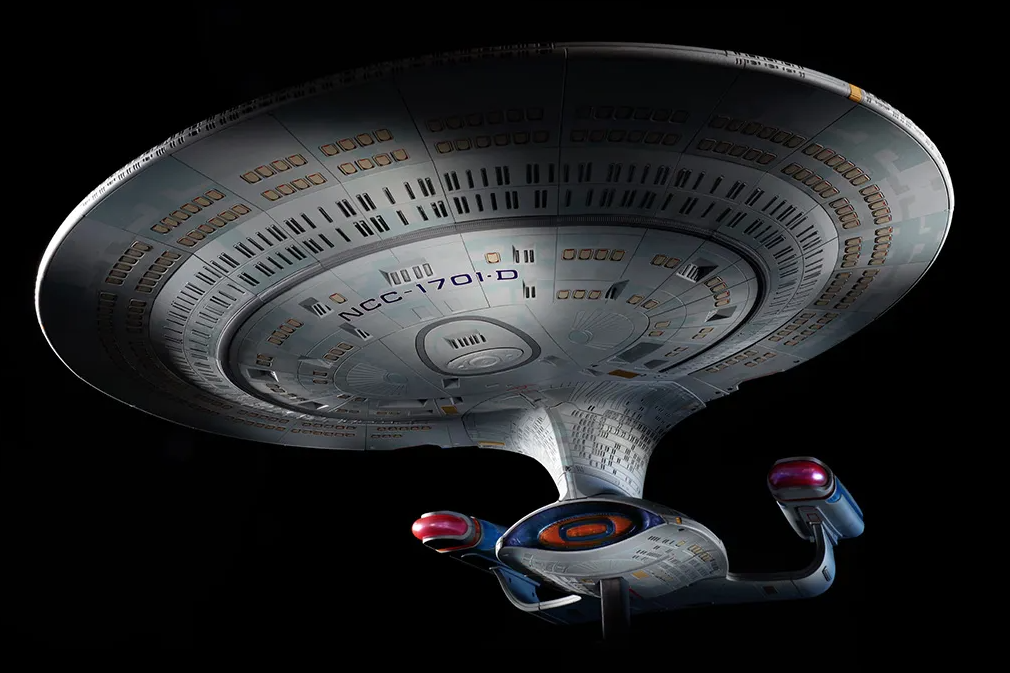 A Gigantic Sized Star Trek: The Next Generation Enterprise-D Replica Just Went On Sale And It's Cheap