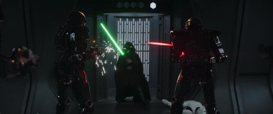 luke skywalker dark troopers