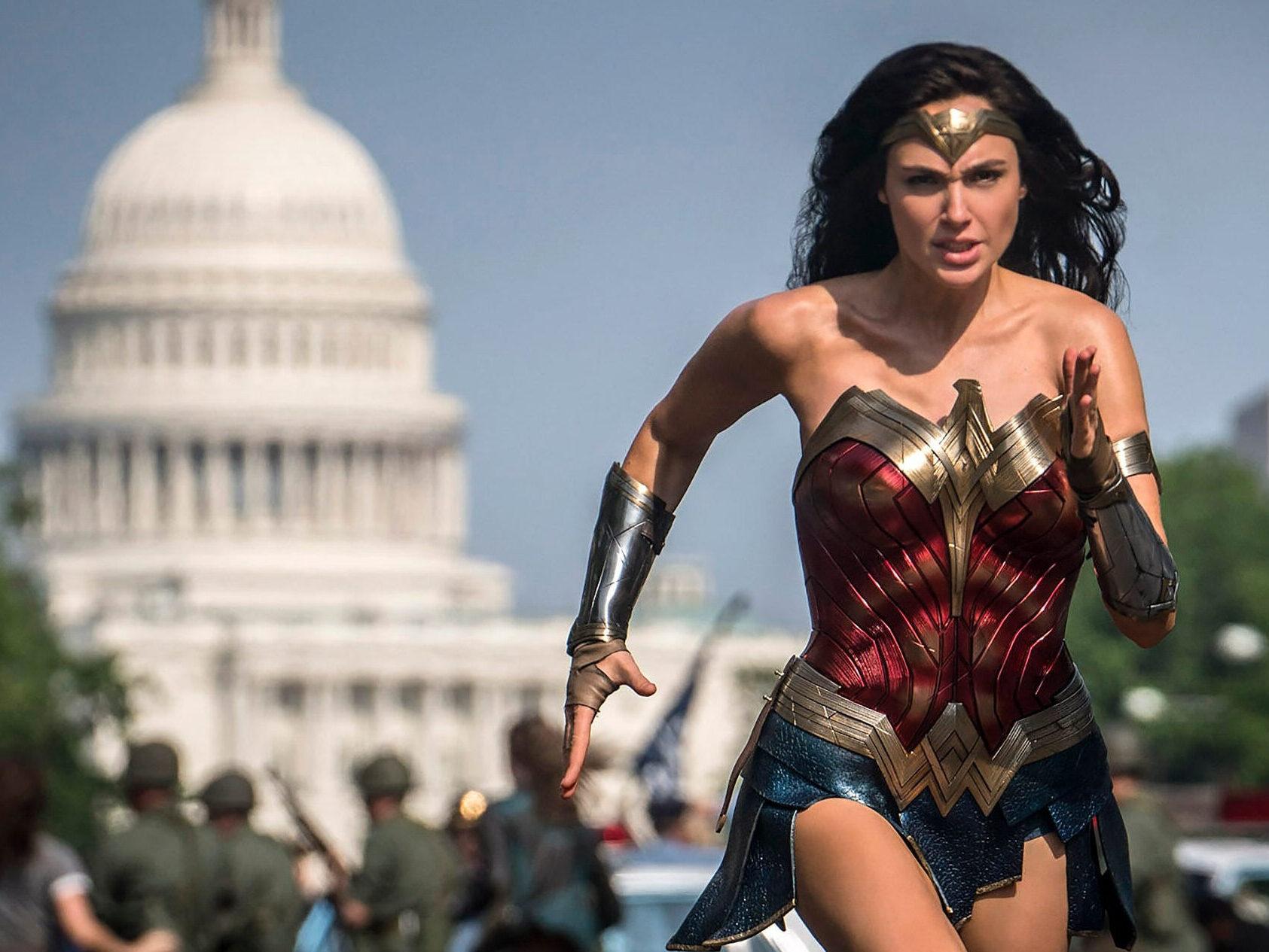 Wonder Woman 1984 political feature