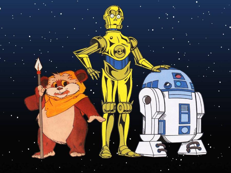 a droid story star wars droids ewok