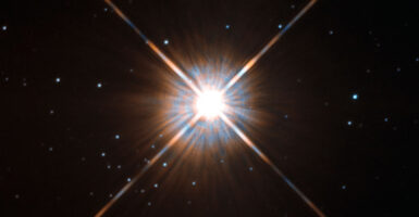 alien signal proxima centauri