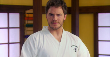 chris pratt karate