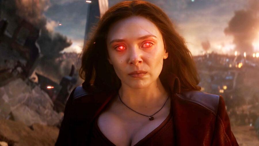 elizabeth olsen scarlet witch avengers