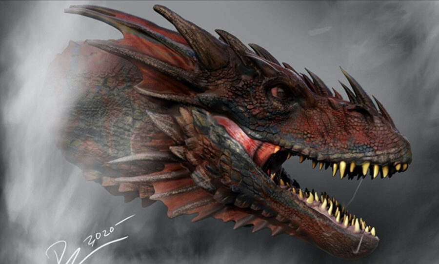 game of thrones house of the dragon art 1