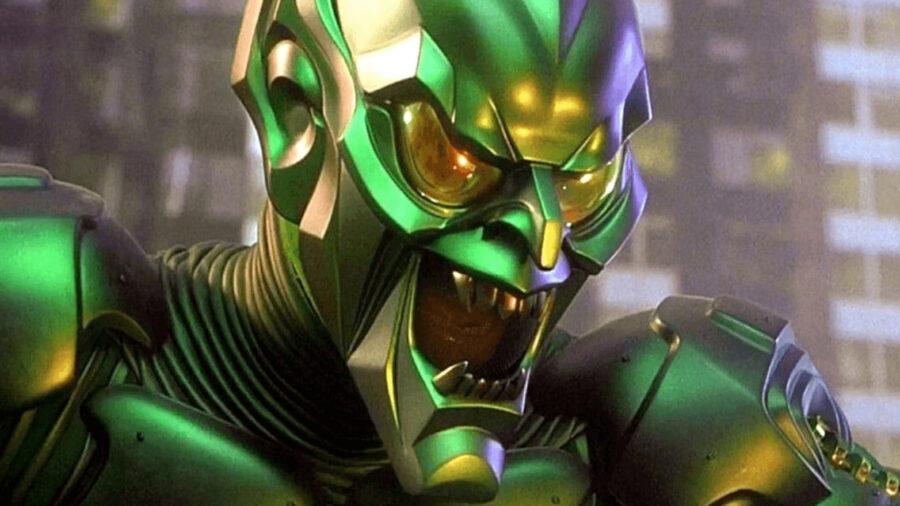 green goblin spider-man