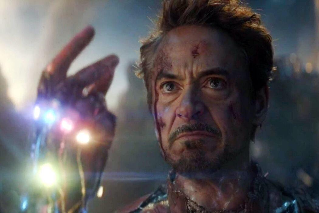 iron man snap infinity gauntlet endgame robert downey jr