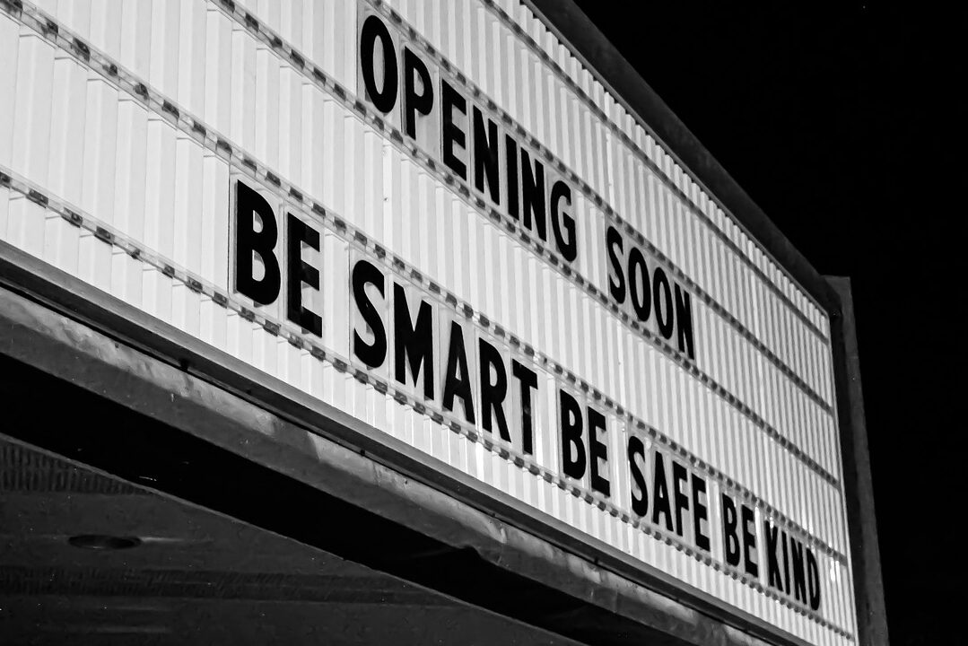 movie theaters marquee