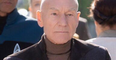 Jean-Luc Picard Patrick Stewart