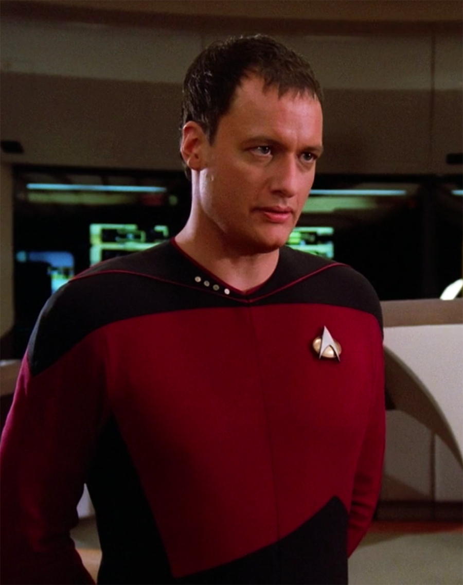 Q on Star Trek