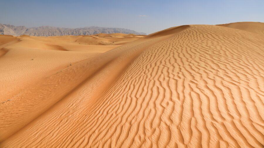 sand shortage desert
