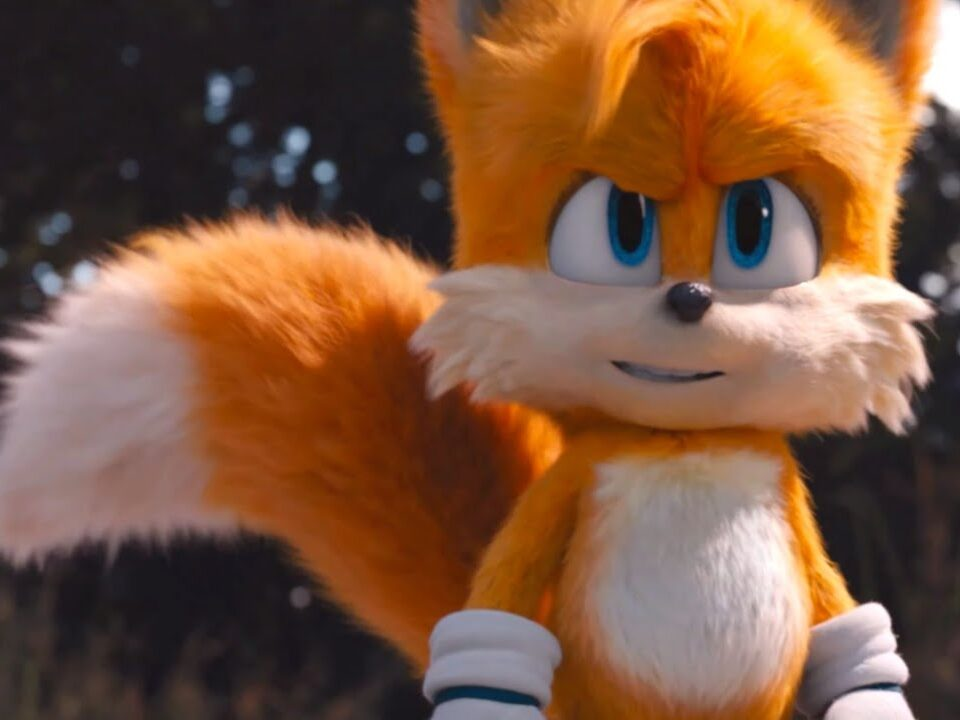 Tails in Sonic the Hedgehog movie