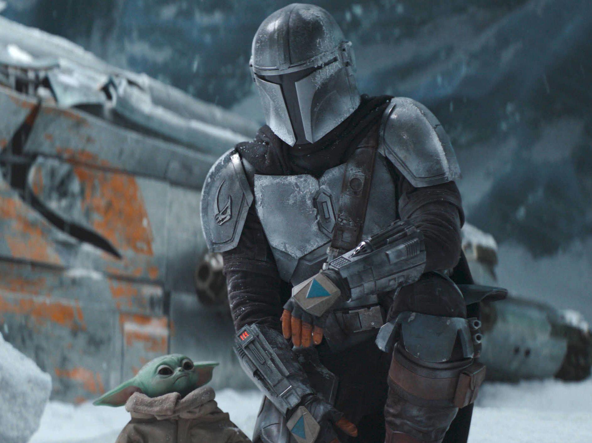 the mandalorian Star Wars series