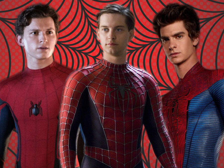 tobey maguire tom holland andrew garfield