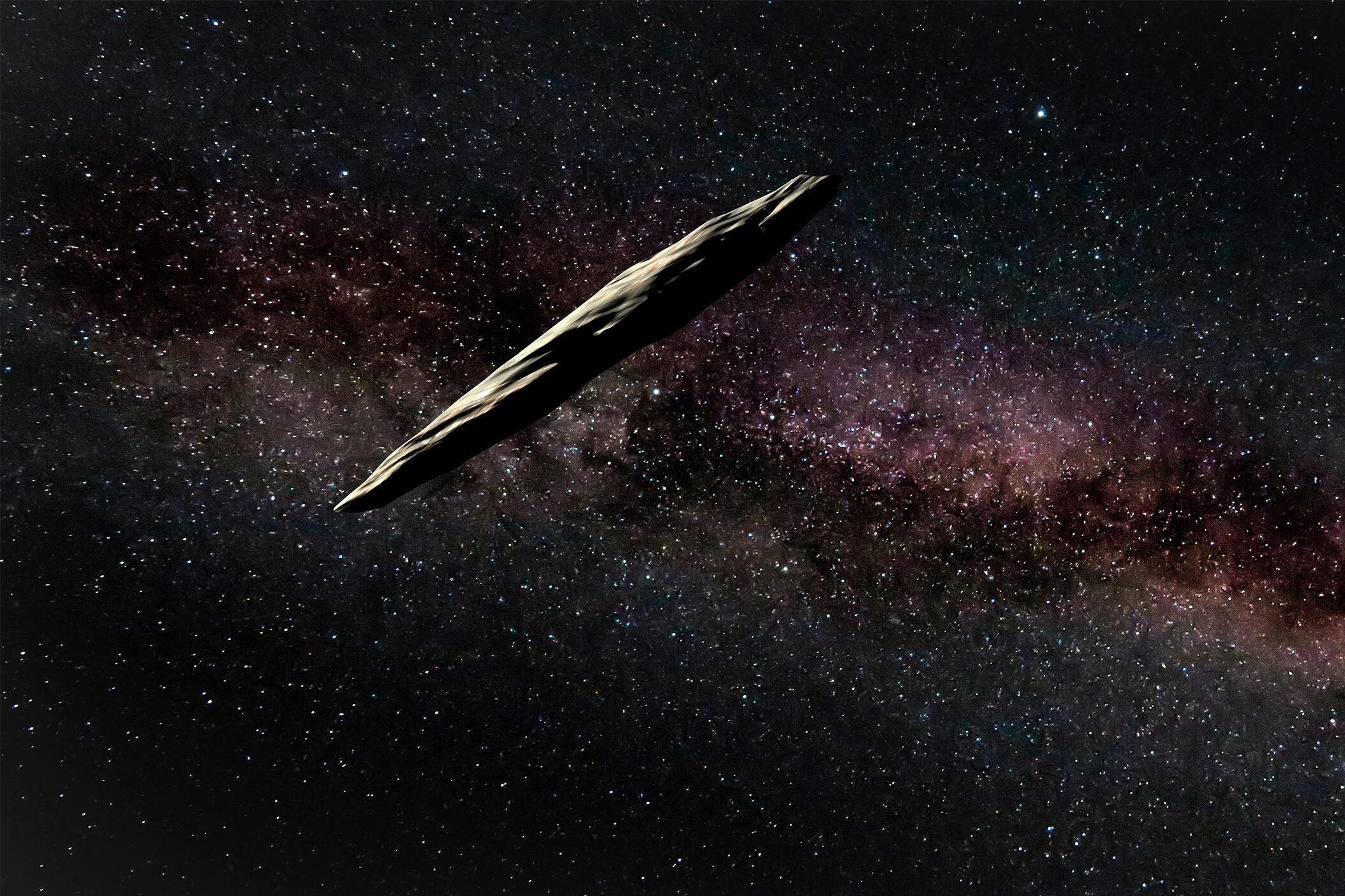 'Oumuamua aliens