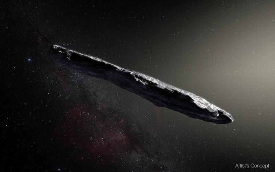 aliens 'Oumuamua