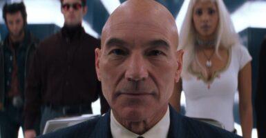 Patrick Stewart X-Men Professor X