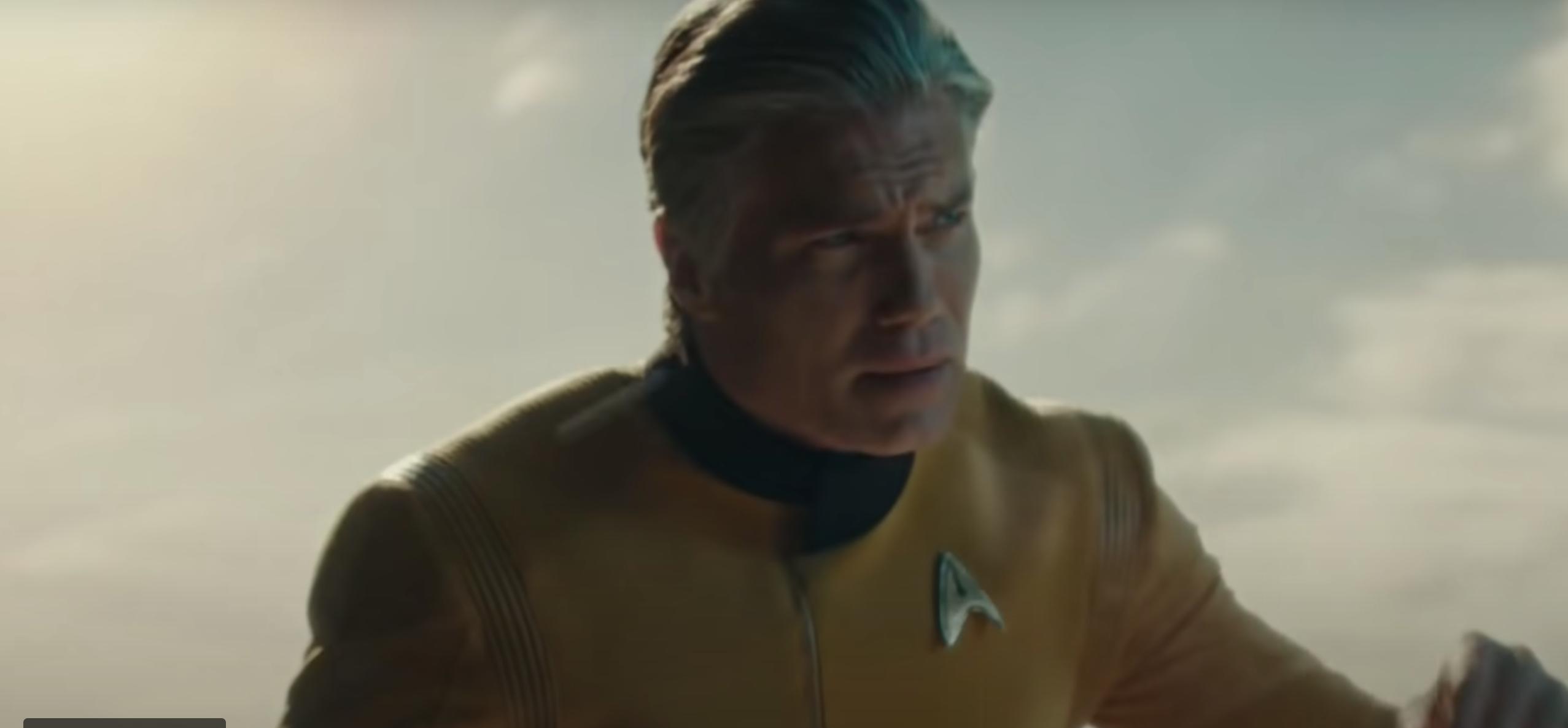 See Anson Mount As Captain Pike Teasing Star Trek: Strange New Worlds