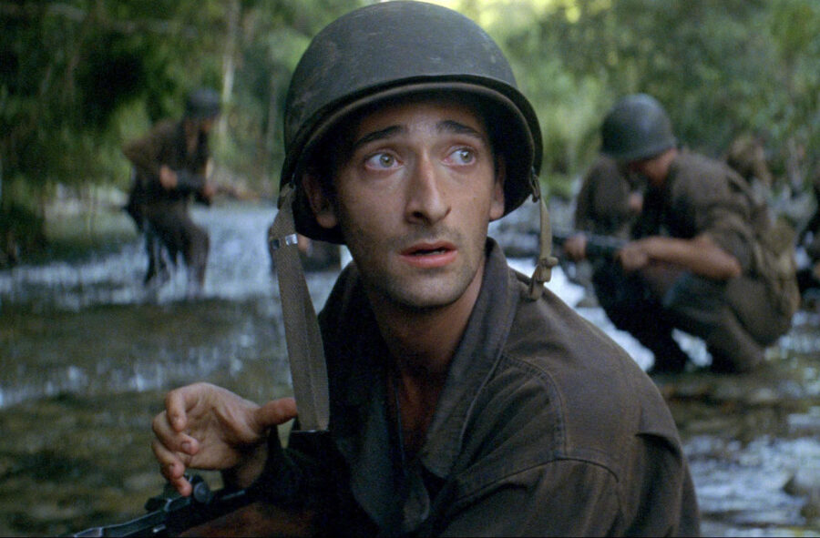 adrien brody thin red line