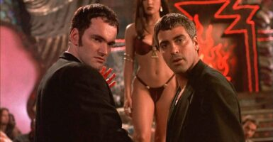 From Dusk Till Dawn Robert Rodriguez George Clooney Quentin Tarantino