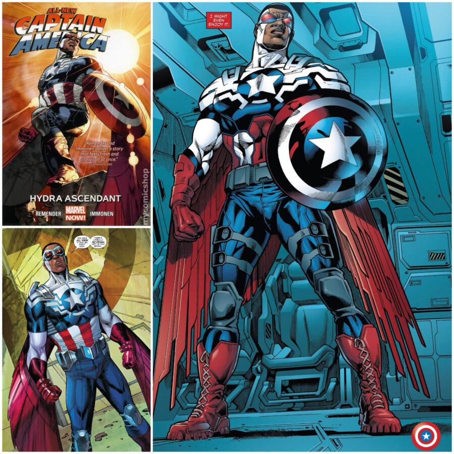 captain america falcon sam wilson