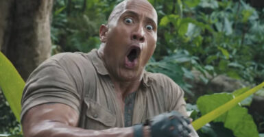 dwayne johnson jumanji