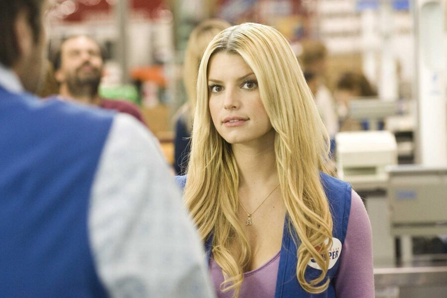 Employee of the Month Jessica Simpson