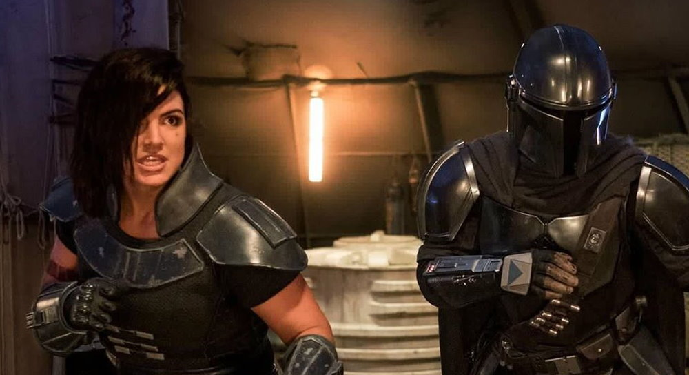 New Mandalorian Artwork Omits Gina Carano From The Cast