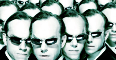 hugo weaving matrix