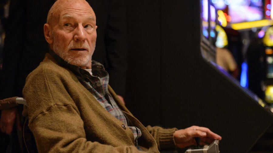 Patrick Stewart Professor X Logan