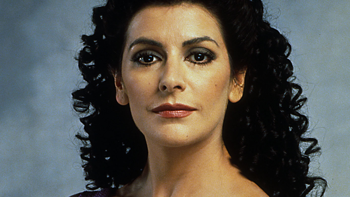 Marina Sirtis: How Cleavage Changed Her Star Trek Character