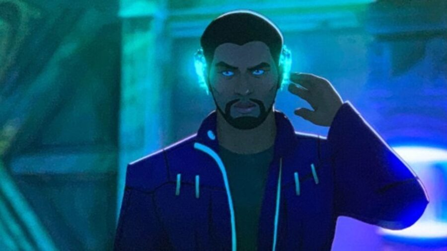 Chadwick Boseman Marvel What If...? Black Panther