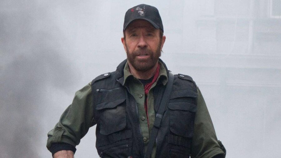 Chuck Norris The Expendables