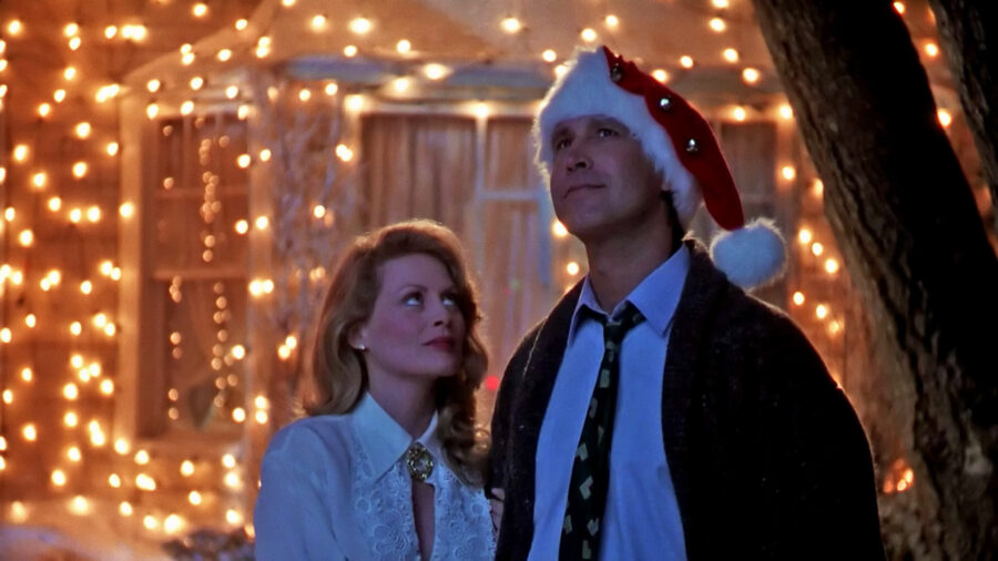 National Lampoon's Christmas Vacation Chevy Chase Beverly D'Angelo