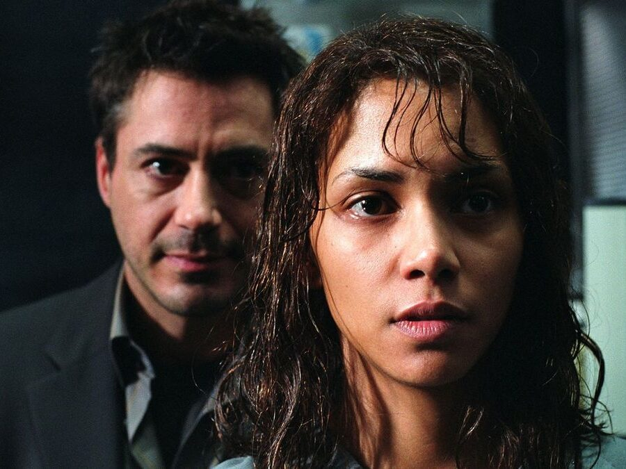 Robert Downey and Halle Berry