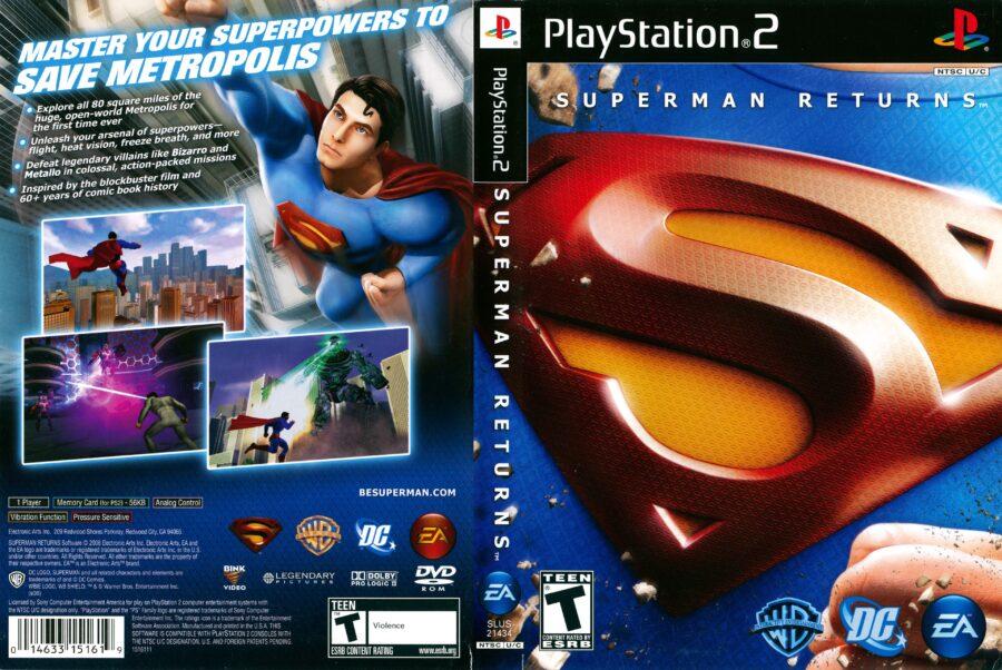 superman returns game
