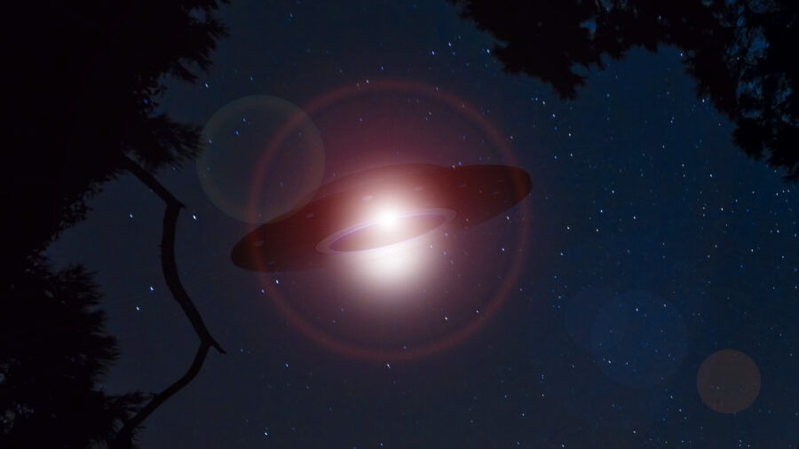 UFOs Photographed Over North Carolina Town