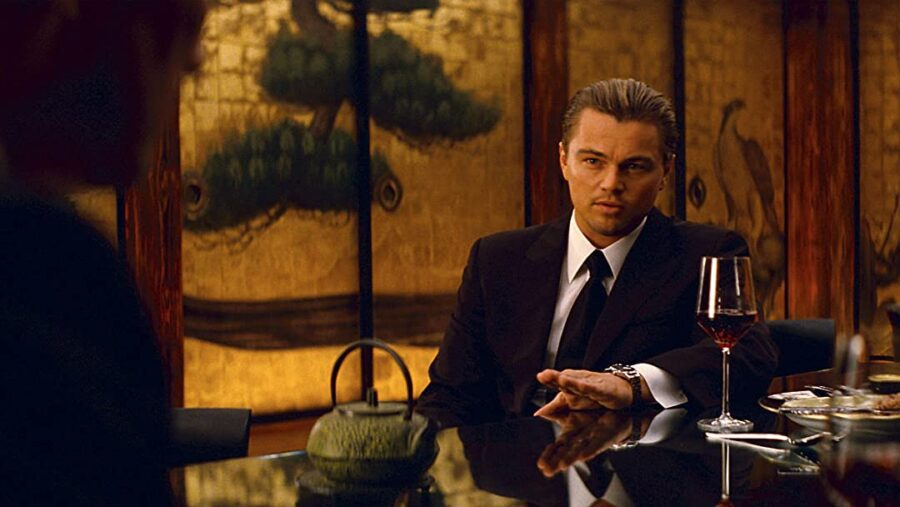 Inception Christopher Nolan Leonardo DiCaprio