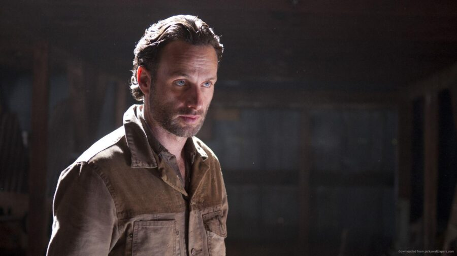 Rick Grimes Andrew Lincoln Walking Dead