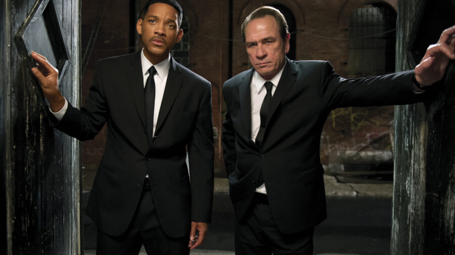 Will Smith Tommy Lee Jones Men in Black